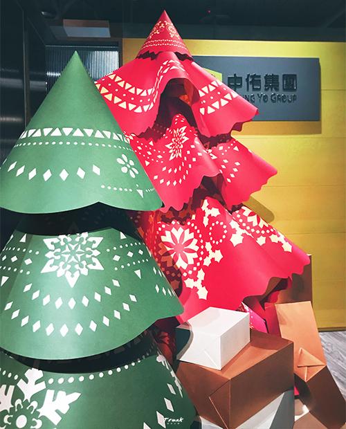 中佑集團-辦公室聖誕佈置-圖2