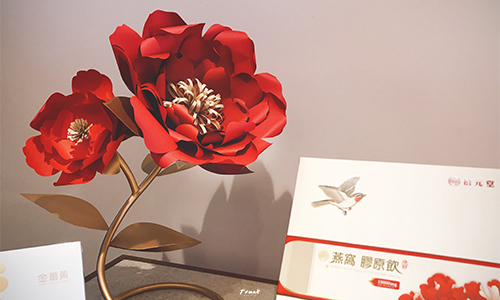 禧元堂燕窩-桌花裝飾設計-圖3