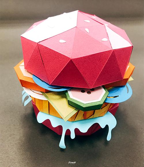 紙藝漢堡-圖6