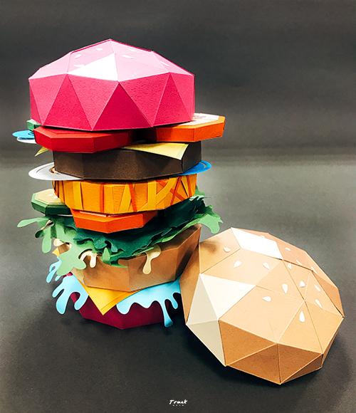 紙藝漢堡-圖7