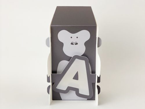 動物造型字母燈-A1